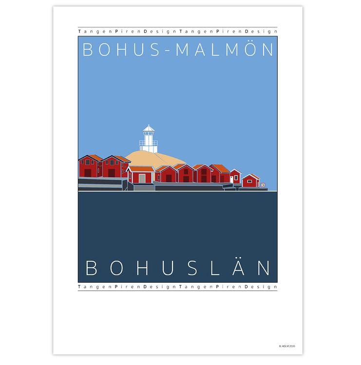 Poster Bohus-Malmön utan ram