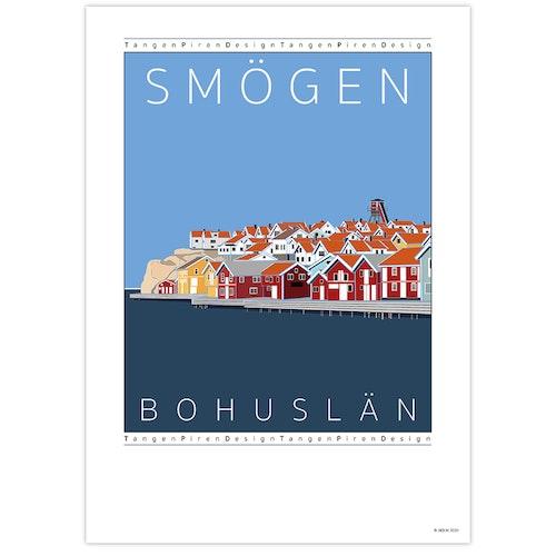 Poster Hamnen Smögen
