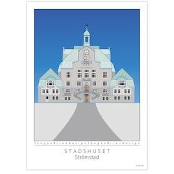 Poster Strömstads Stadshus