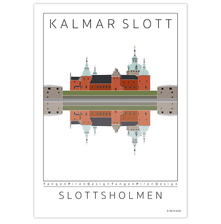 Poster Kalmar Slott utan ram