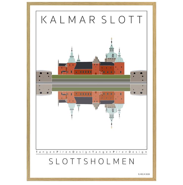 Poster Kalmar Slott med ekram