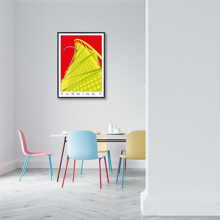 Poster Turning Torso interior