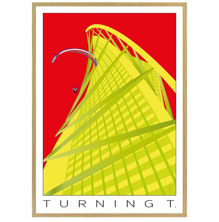 Poster Turning Torso med ekram