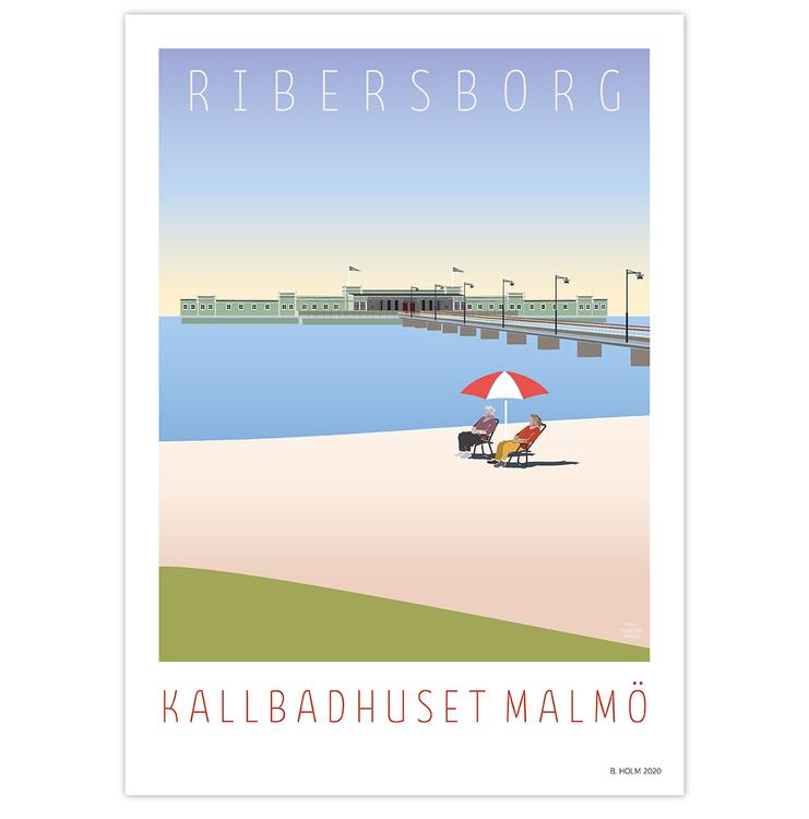 Poster Ribersborg utan ram