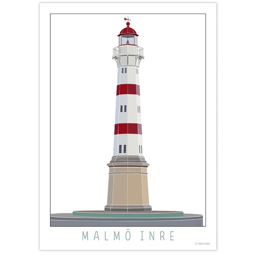 Poster Fyr Malmö Inre