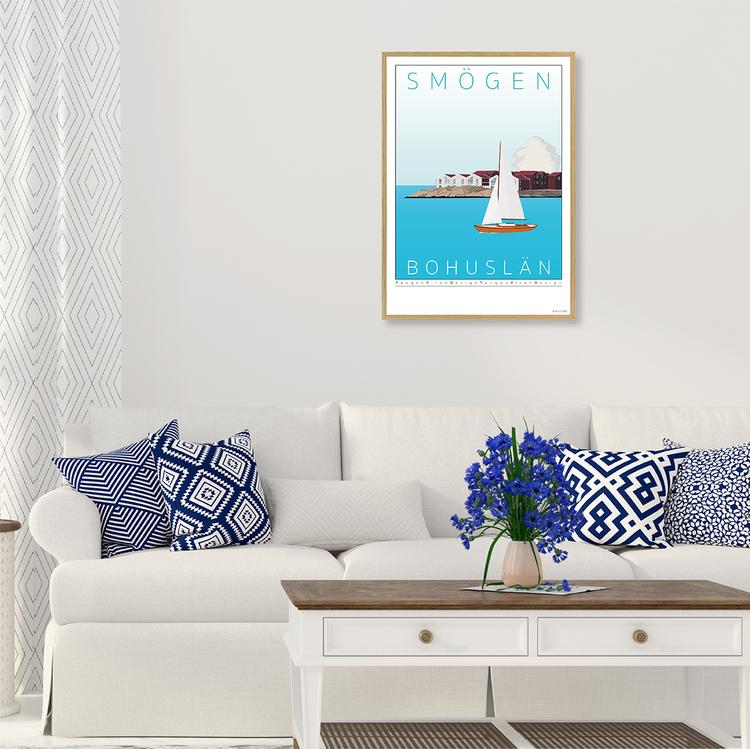 Poster Kleven Smögen Interior