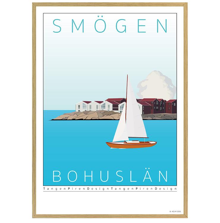 Poster Kleven Smögen Ekram