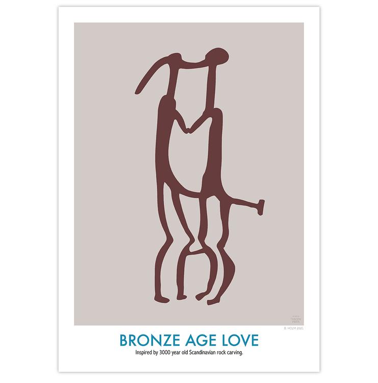 Poster Bronze Age Love utan ram