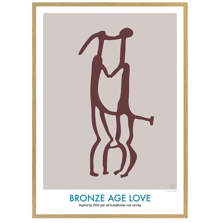 Poster Bronze Age Love med Ekram