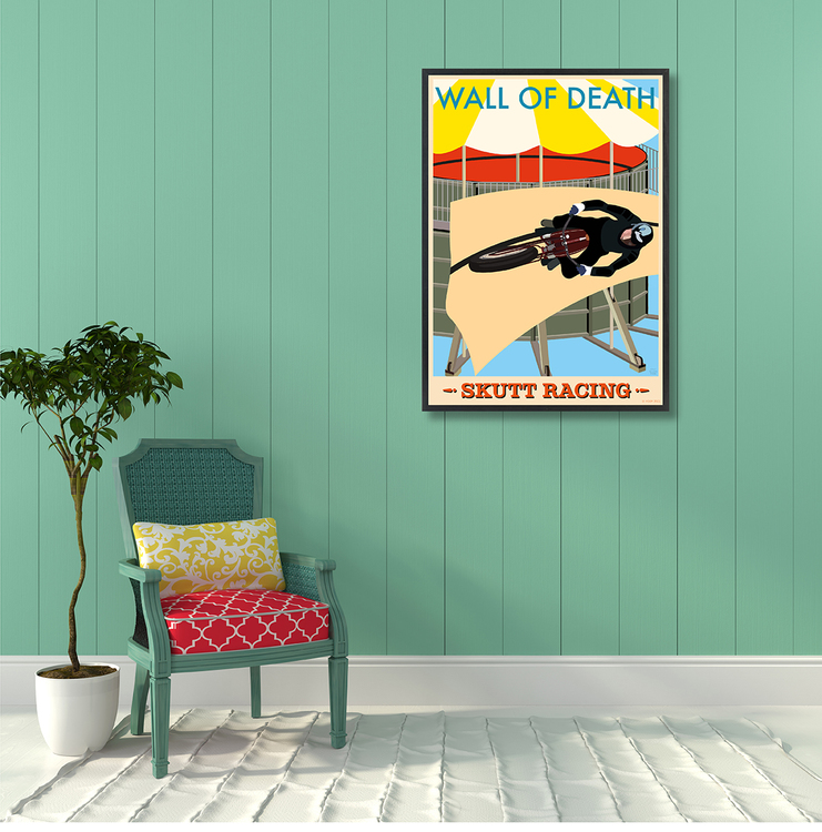 Poster Skutt Racing Interior