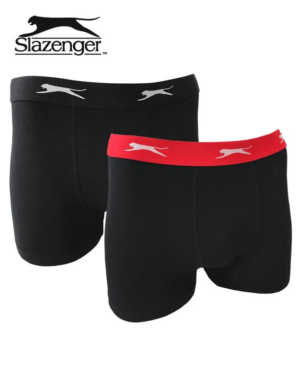 Boxerkalsonger 2-p, Slazenger
