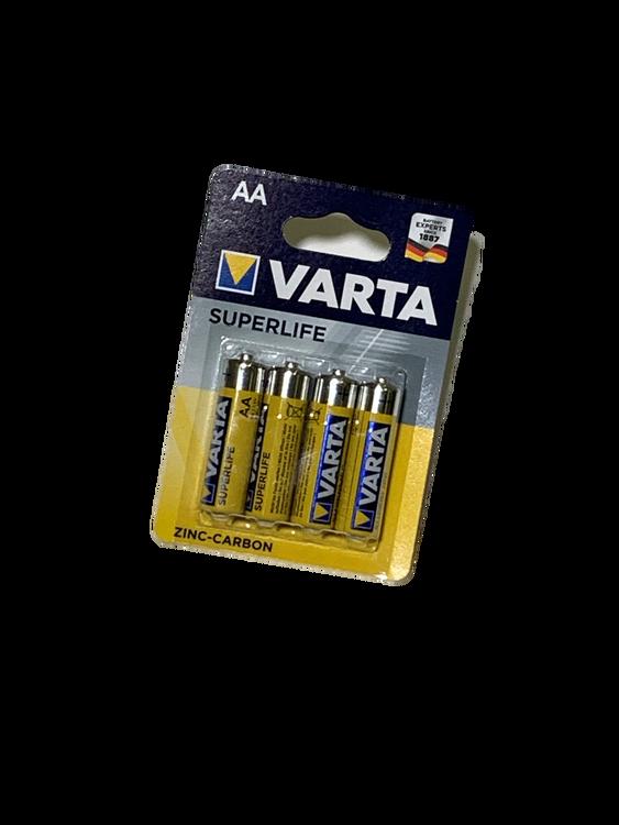 Batteri AA 4-p Varta