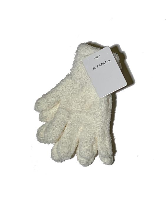 Fingervantar fluffig, dam