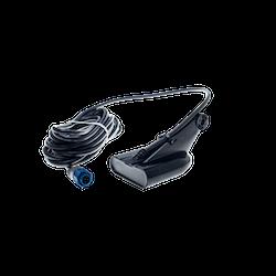 Lowrance HST-DFSBL 50/200 kHz akterspegelmonterad Skimmer m. temp