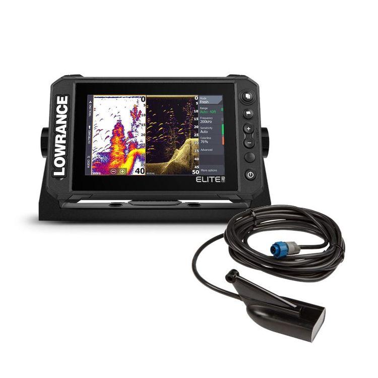 Lowrance Elite FS™ 7 med HDI-ekolodsgivare