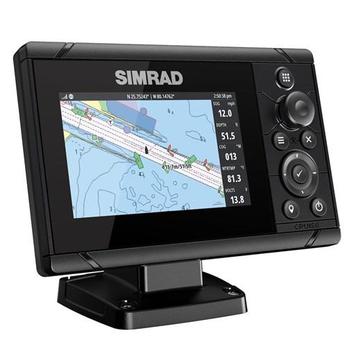 Simrad Cruise 5 med  83/200-ekolodsgivare
