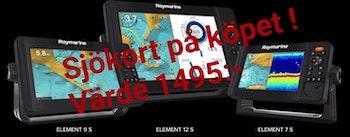 Raymarine Element 12 S (utan givare)