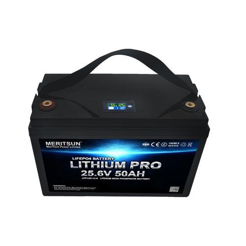 Meritsun Lithium 24V 50Ah