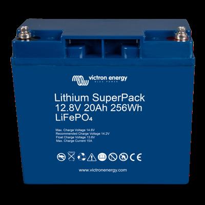 Victron Energy SuperPack Litiumbatteri 12,8V/20Ah