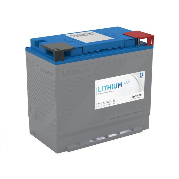 Discover Lithium Blue 12V 200 AH lithiumbatteri