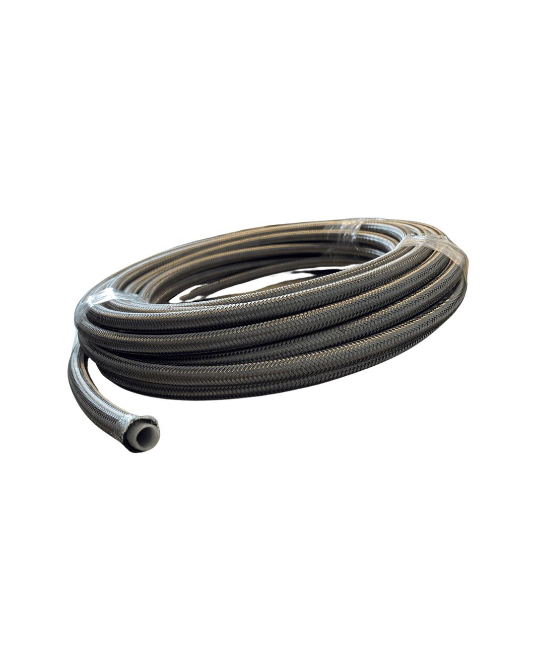 Stålomspunnet PTFE slange - Click & Boost