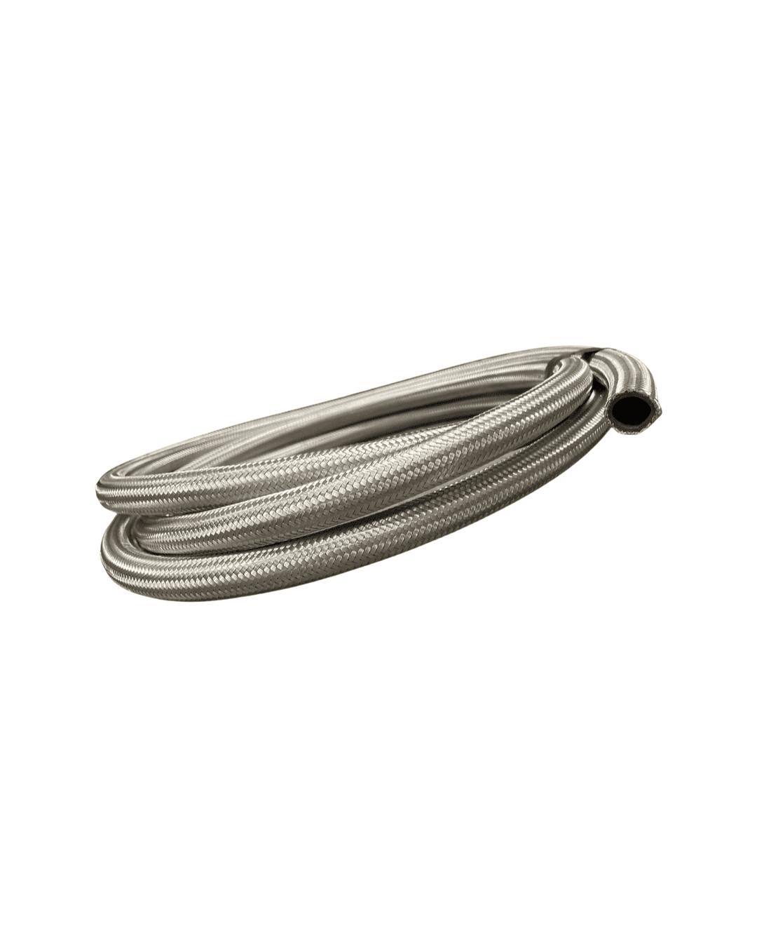 Stålomspunnet Gummislange - Click & Boost