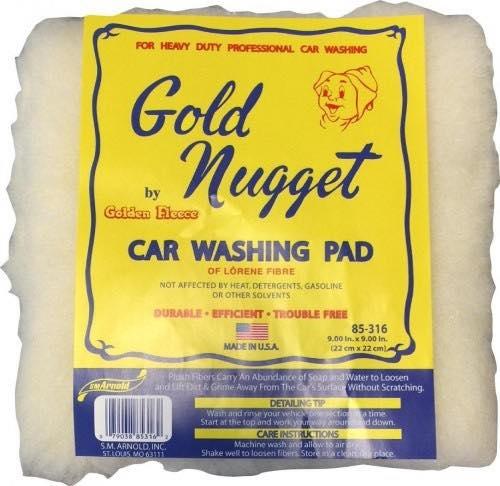 Gold Nugget Ull svamp