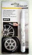 Markeringspenna för däck - Dunlop vit