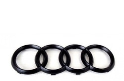 Audi blank svarta ringar till grill