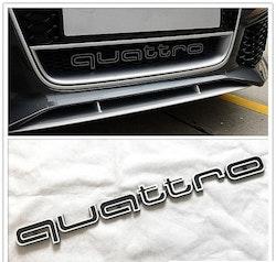 Audi - Quattro emblem till grill