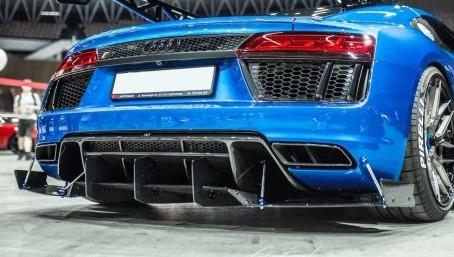 R8 - Bakre diffuser - Audi R8 mk2 2015