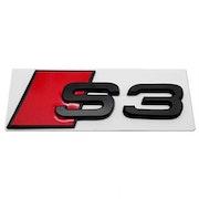 S3 blanksvart emblem bak