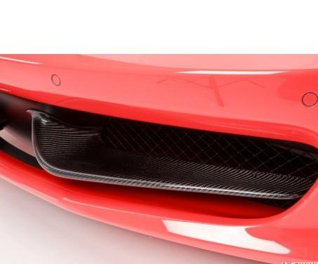 "Ferrari 458 Italia - DMC Carbon fiber frontflaps ""Elegante"""