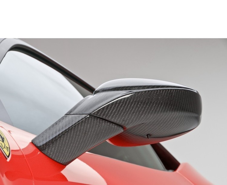 "Ferrari 458 Italia - DMC Carbon fiber sido speglar ""Elegante"""