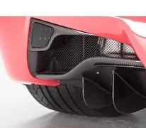 "Ferrari 458 Italia - DMC Carbon fiber bakre diffuser ""Elegante"""