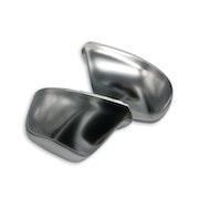 Q5/Q7 - Spegelkåpor i mattsilver aluminium look till Audi Q5 2008-2017 samt Q7 2009-2015