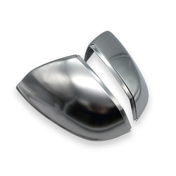 Q5/Q7 - Spegelkåpor i mattsilver aluminium look till Audi Q5 2018-> samt Q7 2015->