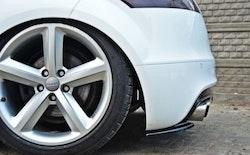 TT - Bakre sido splitters AUDI TT MK2 RS 06-14