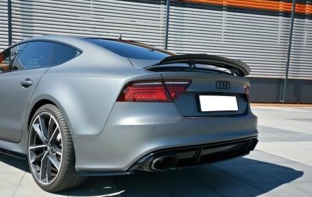 RS7 - Bakre sidosplitters - Audi RS7