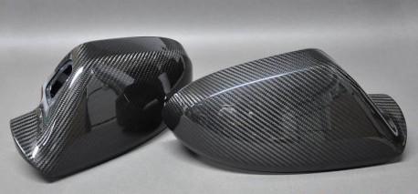 RS7 - Kolfiber backspegel kåpor till Audi A7/S7/RS7 4G