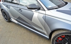 RS6 - Sidokjolar diffusers AUDI RS6 C7