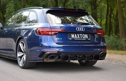RS4 - Bakre diffuser splitter - Audi RS4 B9 avant