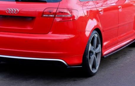 Bakre sidosplitters - Audi RS3 8P