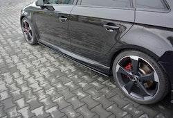 RS3 - Sidokjol splitter - Audi RS3 8V Facelift Sportback