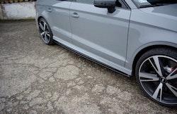 RS3 - Sidokjol splitter - Audi RS3 8V Facelift Sedan