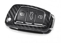 RS3 - Kolfiber kåpa/skal till Audi nyckel (A1, A3, A6, Q3, TT, samt S & RS modeller)