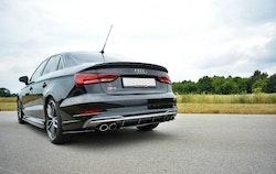 S3 - Bakre diffuser splitter - Audi S3 8V Facelift