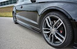 S3 - Sidokjol splitter - Audi S3 8V Facelift