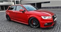 S3 - Sidokjolar diffusers Audi S3 8V Sportback / AUDI A3 8V SLINE