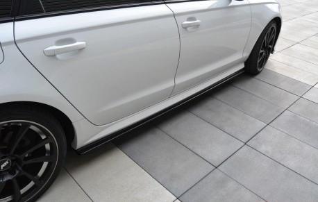 Sidokjol splitter - Audi A6 C7.5 Facelift